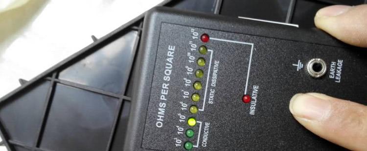 防静电周转箱 中空板周转箱_ESD防静电门禁系统